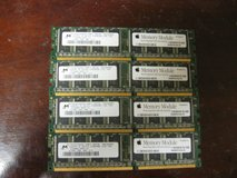 (4) 512MB DDR Apple Memory Modules in Kingwood, Texas