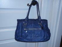 Authentic Blue Coach handbag in Quantico, Virginia