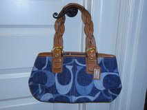 Authentic Blue Jeans Coach handbag in Quantico, Virginia