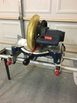 Compound Miter saw and stand in Spring, Texas