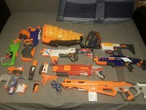 Nerf gun lot in Lawton, Oklahoma