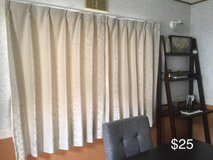 Beige Japanese Curtains in Okinawa, Japan