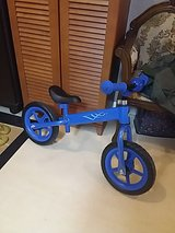 Kid's bike without pedals in Okinawa, Japan