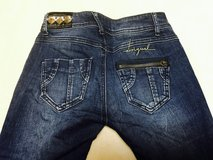 #3) Desigual stretchy jeans (small) in Okinawa, Japan
