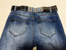 #4) Desigual stretchy jeans (small) in Okinawa, Japan