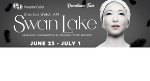"""Last (2) """"SWAN LAKE"""" Houston Ballet Lower Level Tickets - Sun, June 24 - Call Now! in Conroe, Texas"""
