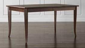 Crate and Barrel Extension Dining Table - LIKE NEW! in West Orange, New Jersey