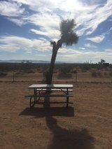 Picnic table by Lifetime in Yucca Valley, California
