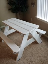 Solid Wood Kids Picnic Table in Kingwood, Texas