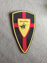 Medieval Times soft shield in Elgin, Illinois
