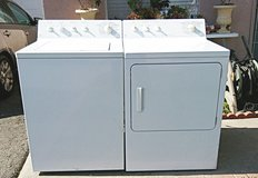 GE WASHER AND GAS DRYER SET in Camp Pendleton, California