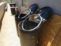 1- 55 gallon Plastic Barrel in Yucca Valley, California