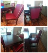 5 Piece Wood Dining Table in Fort Gordon, Georgia