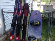 Ski board, skis in Camp Lejeune, North Carolina