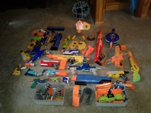 nerf guns, clips and some ammo in Fort Drum, New York