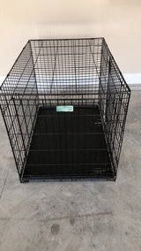 Collapsable  metal large dog crate in Jacksonville, Florida