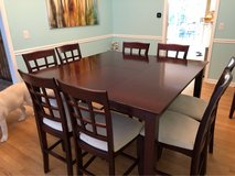 Dining Room Table w/ 8 Chairs in Joliet, Illinois