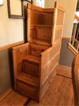 ~4 drawer dresser/stair set for bunk beds~ in Bolingbrook, Illinois