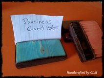 Business card stands (handcrafted) in Alamogordo, New Mexico