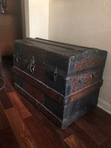 large antique trunk in Kingwood, Texas