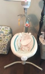 fisher price baby swing w/ wall plug in Spring, Texas
