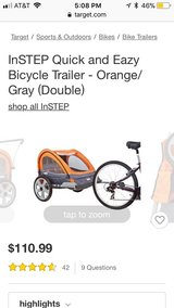 in step bike trailer in Bolingbrook, Illinois