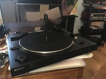 Sony turntable in Glendale Heights, Illinois