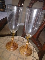 Vintage Candle stick Holders w Glass in Spring, Texas