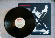 X LOS ANGELES VINYL LP 1980 SLASH VG+, Zoom-Doe-Exene-Bonenreak-Manzarek in Lawton, Oklahoma