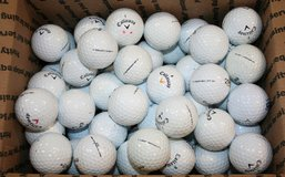 5 DOZEN 60 USED CALLAWAY GOLF BALLS in Lockport, Illinois