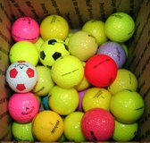 3 DOZEN 36 COLORED GOLF BALLS in Lockport, Illinois