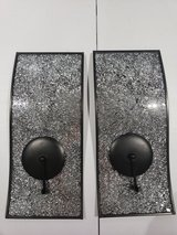 2 Wall Metal Mirrored Candle holder in Fort Campbell, Kentucky