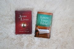 Jesus Lives + Know Your Bible Books in Lawton, Oklahoma