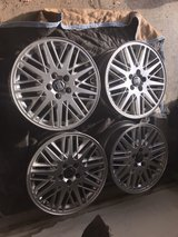 """Set of 4 Volvo 17"""" OEM Rims w/ center caps and TPMS in Lockport, Illinois"""