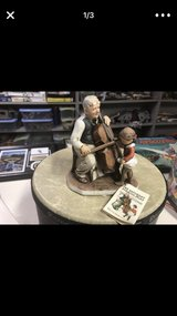 High quality Norman Rockwell porcelain figurine- cello in Lockport, Illinois