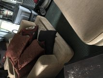 Brown couch and loveseat in Lockport, Illinois