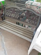 meta frame new wood paint and bolts refinished in Lawton, Oklahoma