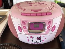 Hello Kitty CD/cassette radio in Fort Campbell, Kentucky
