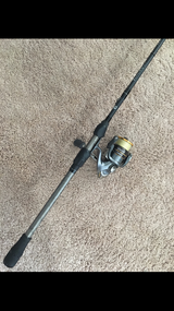 No. 8 Tackle Blackout and 2500 Shimano Sahara Combo in Glendale Heights, Illinois