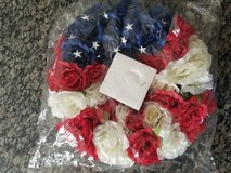 4th of July wreath in Lockport, Illinois