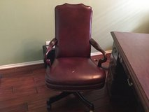 All Leather Executive Desk Chair in Kingwood, Texas
