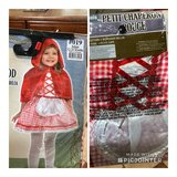 Little red riding hood costume 12-24m in Fort Drum, New York