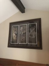 Animal print framed picture in Kingwood, Texas