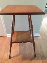 antique end table or night stand in Lockport, Illinois