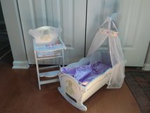 doll cradle and high chair in Lockport, Illinois