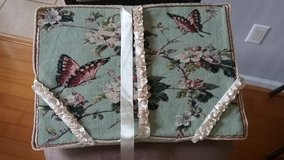 Tapestry Lap Wedge Pillow For Reading in Beaufort, South Carolina