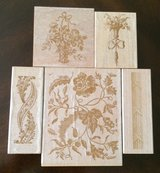 Decorative Floral Stamps in Fort Knox, Kentucky
