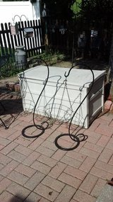 Outdoor Standing Shepard Hook Plant Stands Several  Available Like New! in Bolingbrook, Illinois