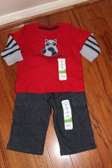 **BRAND NEW***Mischief Maker Shirt And Pants***12 MTHS.NWT in Kingwood, Texas