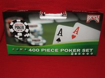 Bicycle World Series of Poker 400 PiecePoker Chip Set ~ New in Chicago, Illinois